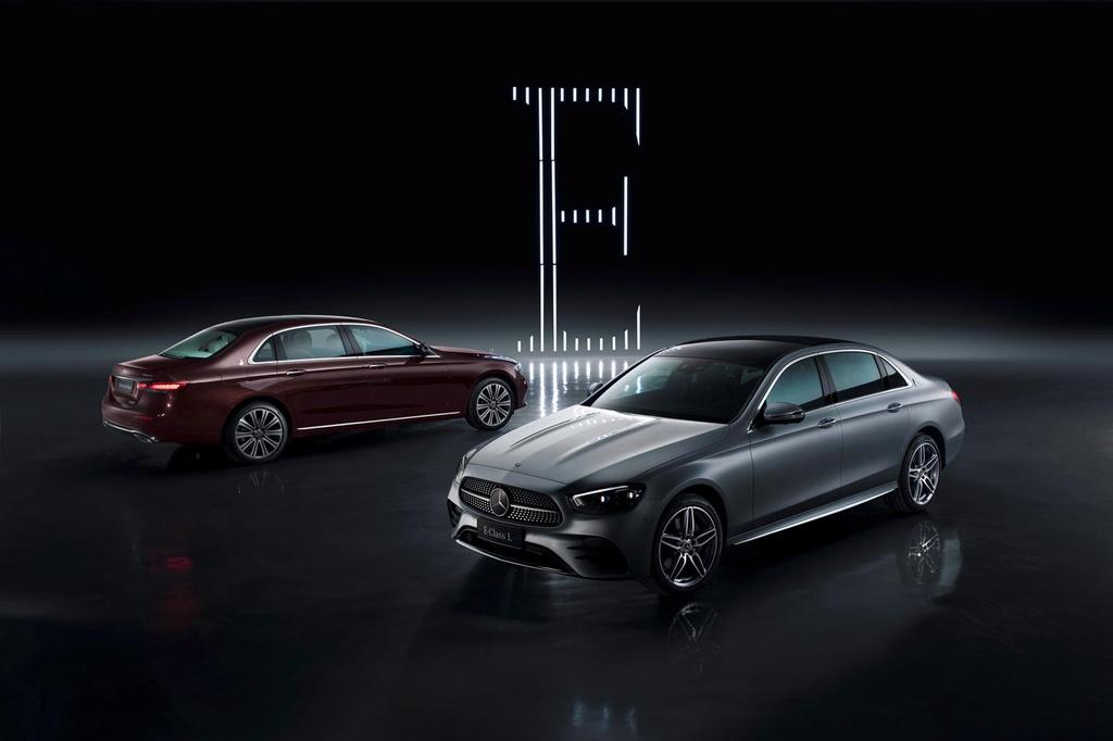 Mercedes-Benz E-Class bản trục cơ sở kéo dài được ra mắt tại TQ
