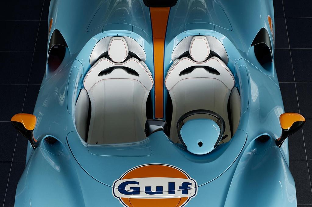 Sieu xe McLaren Elva Gulf Theme sap duoc ra mat anh 6