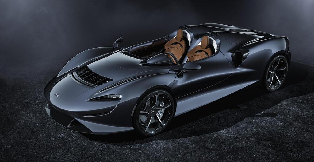 Sieu xe McLaren Elva Gulf Theme sap duoc ra mat anh 9