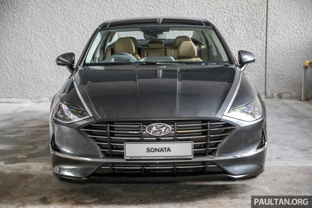 Hyundai Sonata 2020 duoc ra mat tai Malaysia anh 2