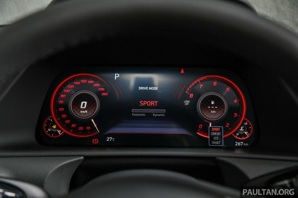 Hyundai Sonata 2020 duoc ra mat tai Malaysia anh 15