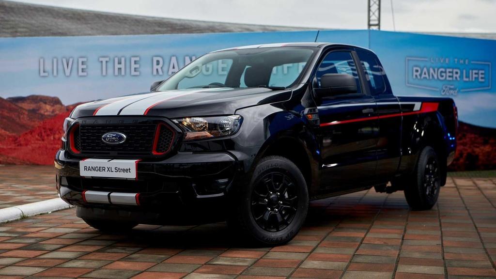 Ford Ranger facelift 2021 duoc ra mat anh 8