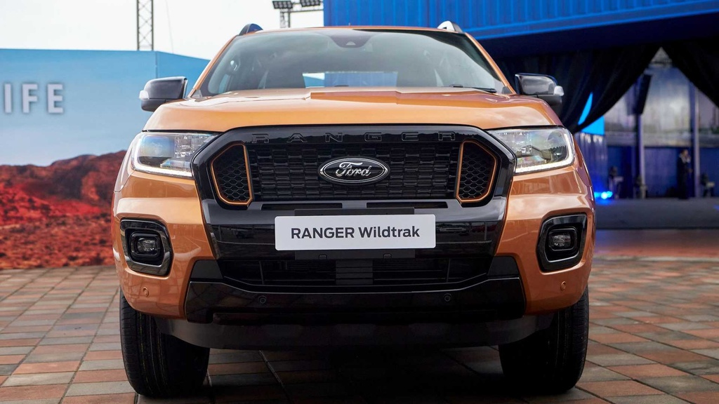 Ford Ranger facelift 2021 duoc ra mat anh 2