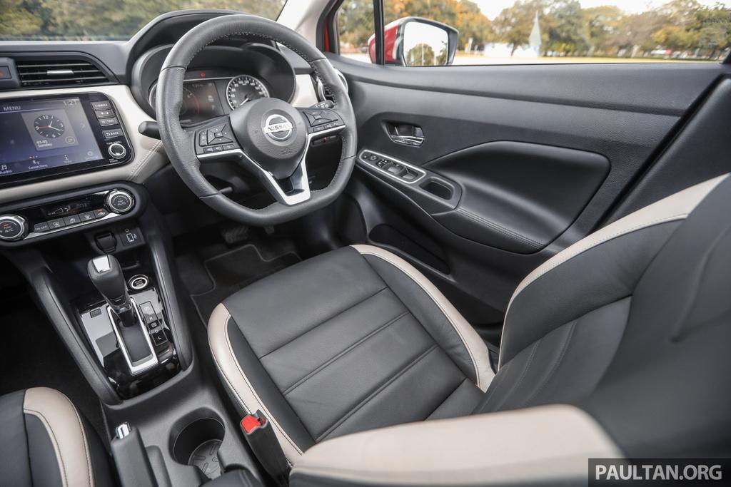Chi tiet Nissan Almera VLT 1.0 turbo anh 8
