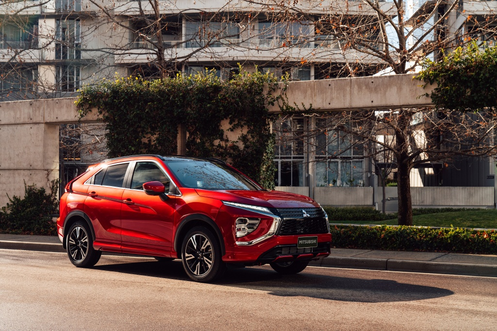 Chi tiet Mitsubishi Eclipse Cross facelift anh 2