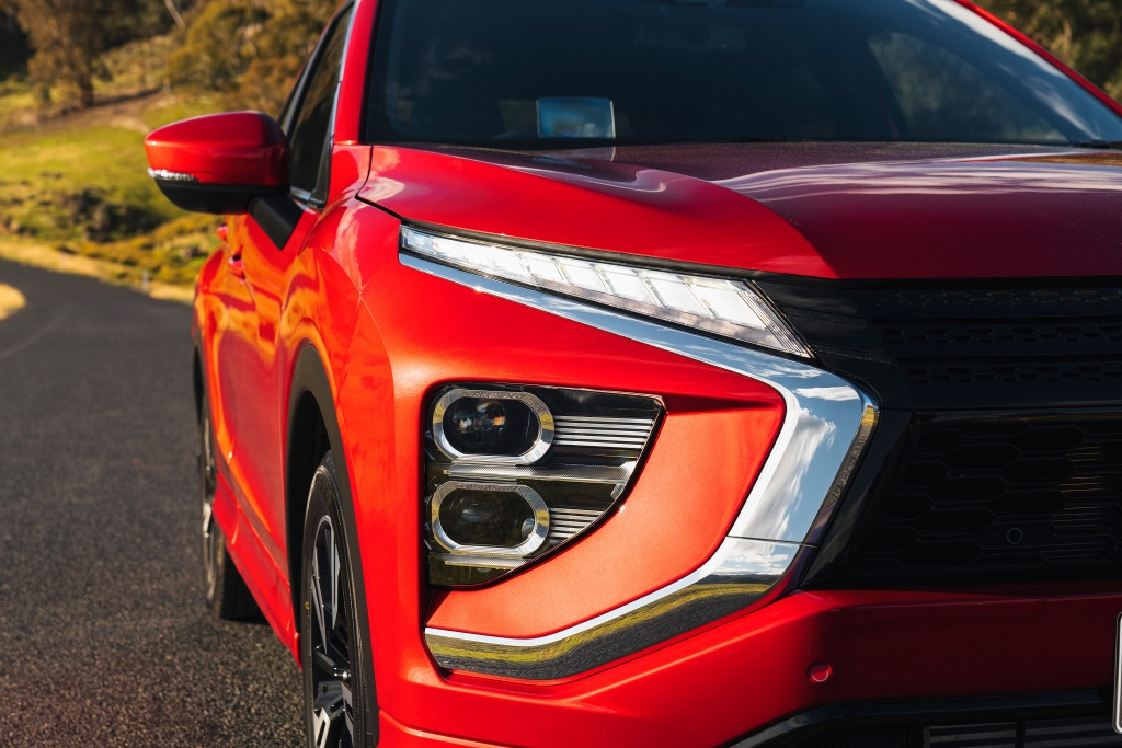 Chi tiet Mitsubishi Eclipse Cross facelift anh 3