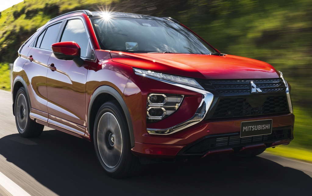 Chi tiet Mitsubishi Eclipse Cross facelift anh 1
