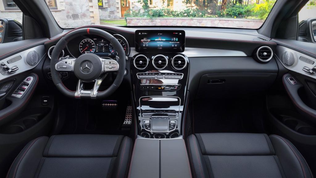 Mercedes-AMG GLC 43 4Matic Coupe 2020 ra mat tai Malaysia anh 5