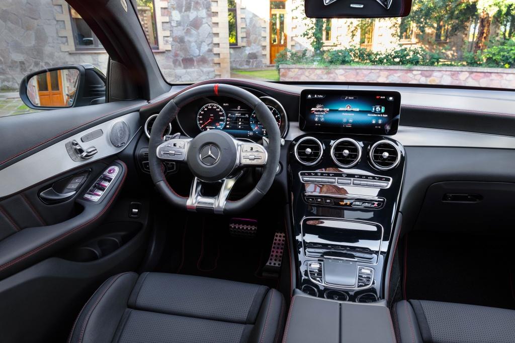 Mercedes-AMG GLC 43 4Matic Coupe 2020 ra mat tai Malaysia anh 7
