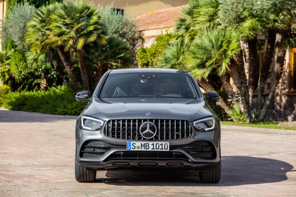 Mercedes-AMG GLC 43 4Matic Coupe 2020 ra mat tai Malaysia anh 2