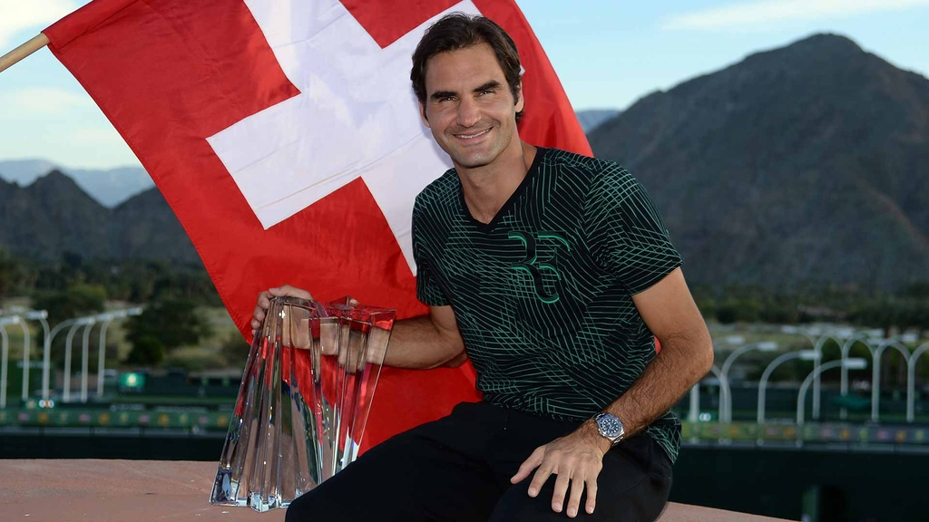 Federer can moc 100 danh hieu tai Dubai Open anh 10