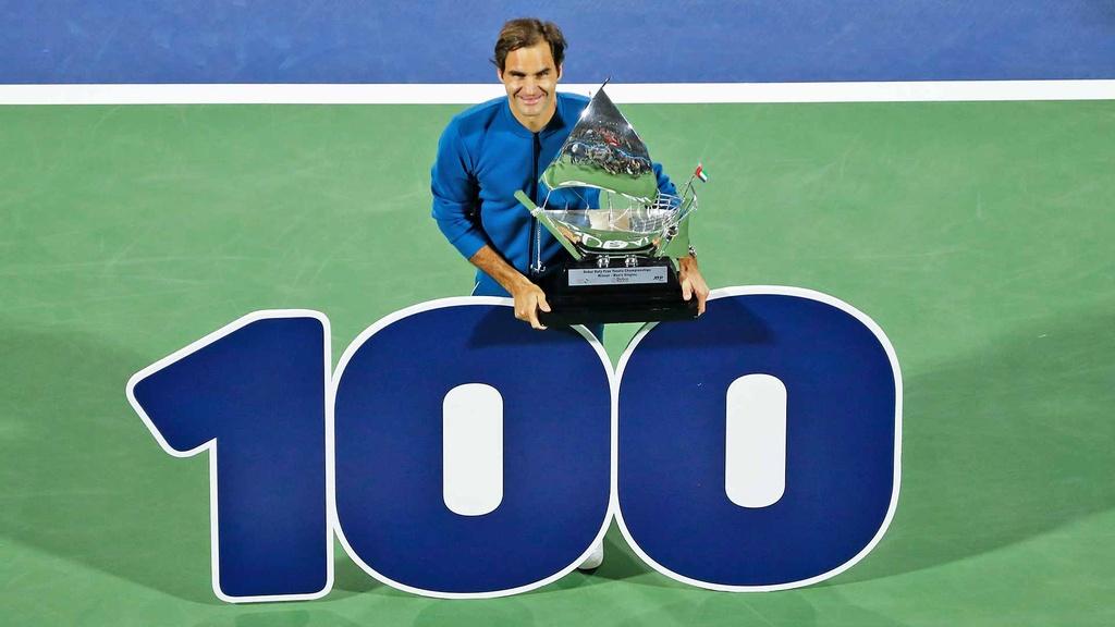 Federer can moc 100 danh hieu tai Dubai Open anh 11
