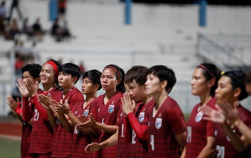 bong da nu Viet Nam thang Thai Lan anh 1