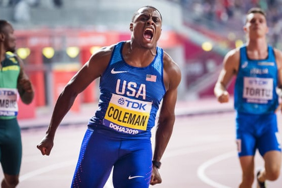 Coleman chay 100m nhanh nhat anh 2