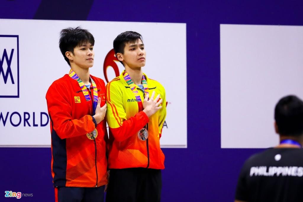 Kinh ngu Hung Nguyen, Kim Son dung chung buc nhan huy chuong SEA Games hinh anh 6