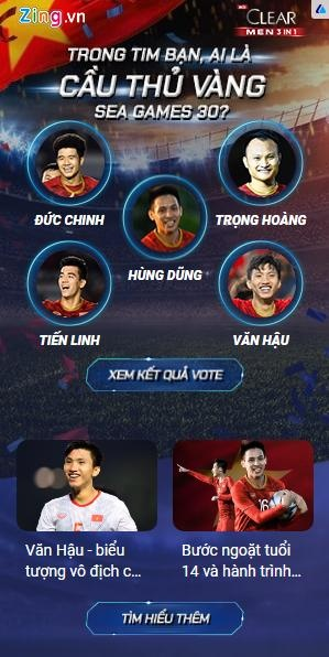 Nhung con so an tuong tai cuoc thi '3 suc manh cho SEA Games bat bai' hinh anh 2 vote1.jpg