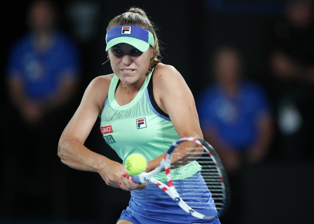 Sofia Kenin - tan vo dich Australian Open duoc so sanh voi Sharapova hinh anh 2 2020_02_01T084916Z_168219172_UP1EG210OI3UO_RTRMADP_3_TENNIS_AUSOPEN.JPG