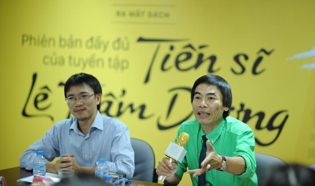 TS Le Tham Duong: 'Dung bien cam xuc thanh ke thu cua thanh cong' hinh anh 1