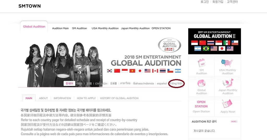 SM tìm kiếm tài năng ở Việt Nam: Ta sẽ là thuộc địa âm nhạc của Kpop
