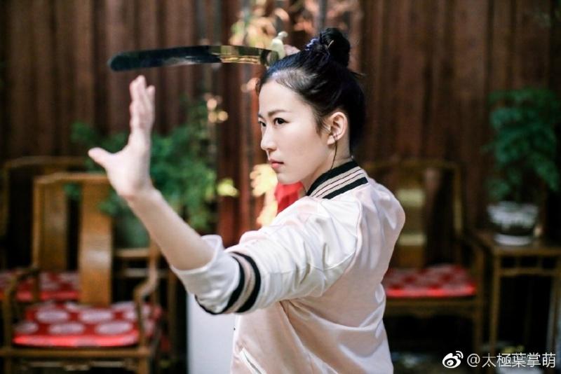 Co gai duoc menh danh nu vo su Kung Fu nong bong nhat Trung Quoc hinh anh 2