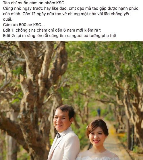Chang trai 31 tuoi lay duoc vo nho cham binh luan 'dao' hinh anh 1