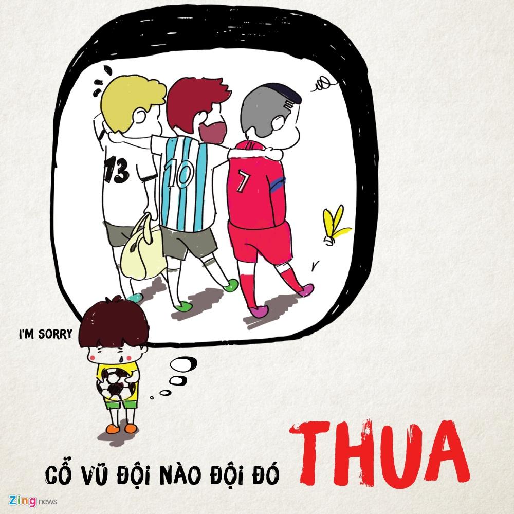 Noi niem World Cup mang ten: Co vu doi nao la doi do thua hinh anh 1