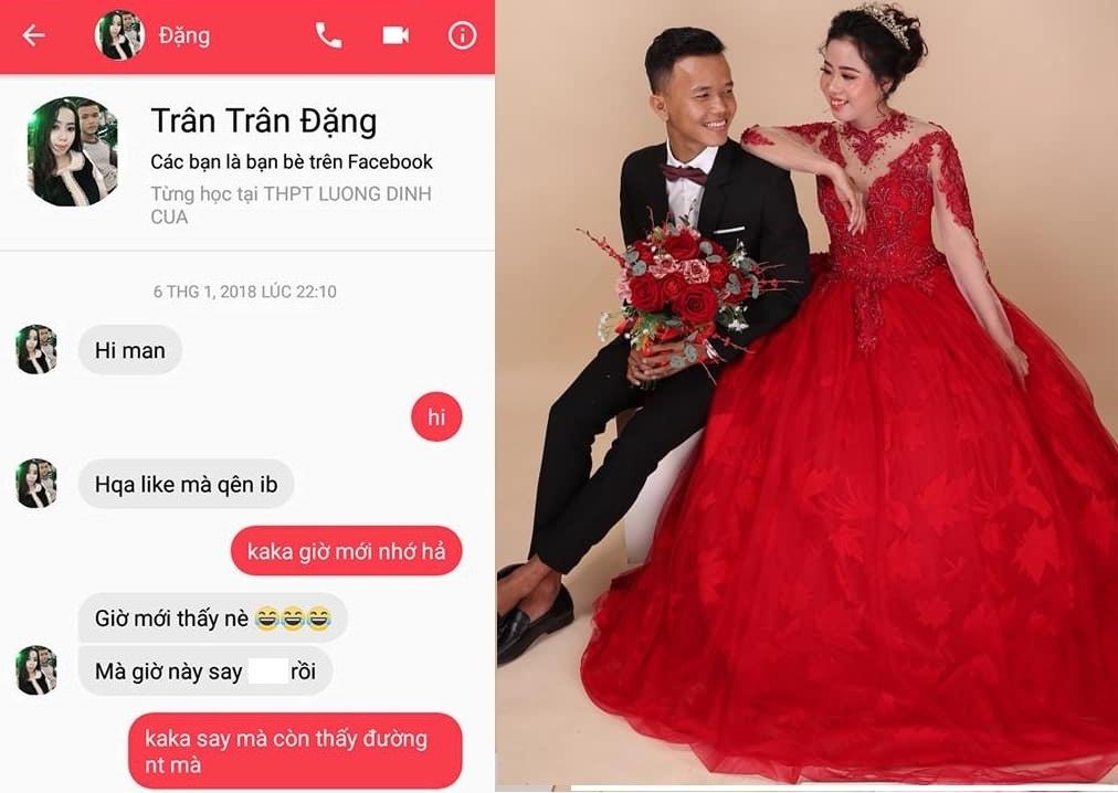 Chang trai 9X cuoi duoc vo dep nho mot lan 'like dao' hinh anh 1