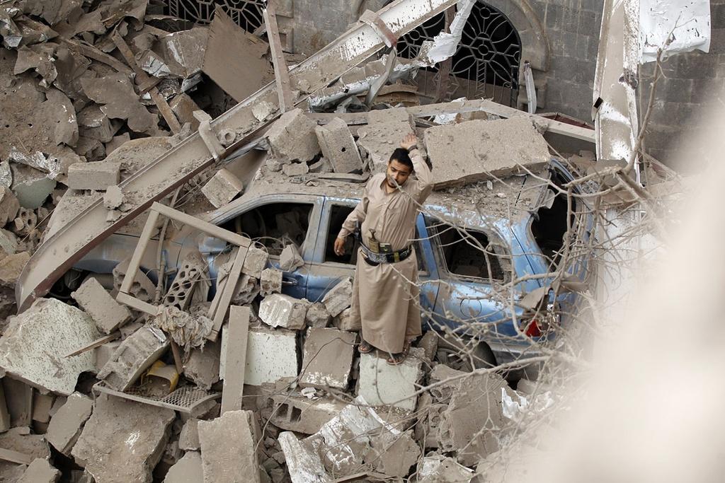 Saudi Arabia va bi kich noi chien tai Yemen hinh anh 6