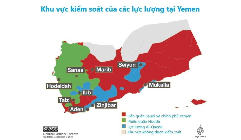 Saudi Arabia va bi kich noi chien tai Yemen hinh anh 3