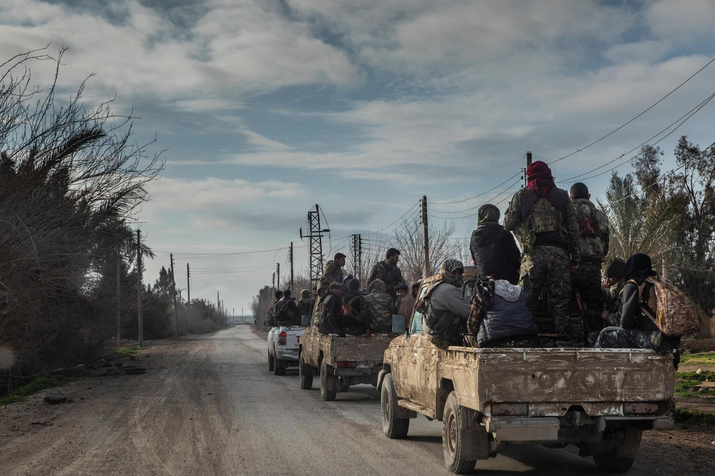 luc luong IS o Syria bi danh bai anh 11