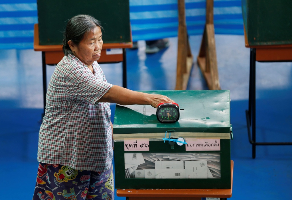 Nhung la phieu quyet dinh ket qua bau cu Thai Lan 2019 hinh anh 11