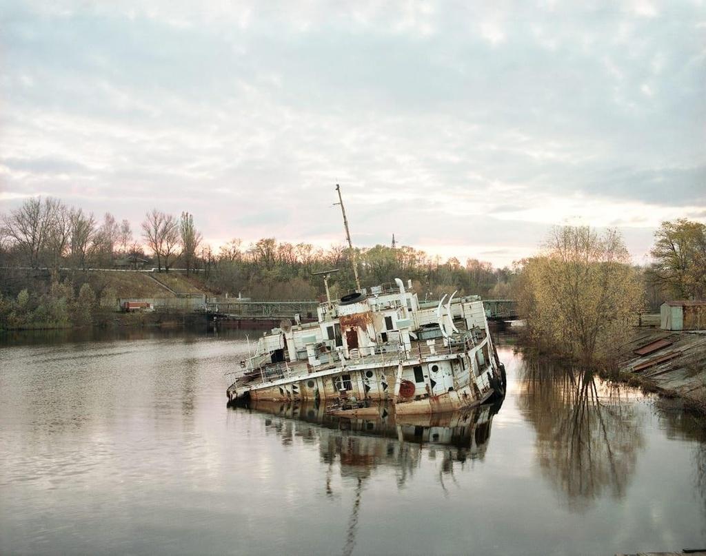 'Thanh pho ma' Pripyat hoang tan hon 30 nam sau tham hoa Chernobyl hinh anh 1