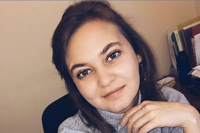 Anna Anufrieva trước khi thôi việc tại chính quyền thành phố.