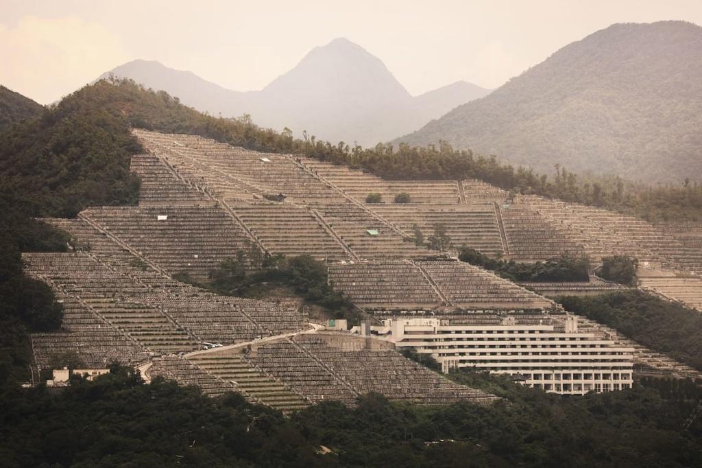 nghia trang Hong Kong anh 1