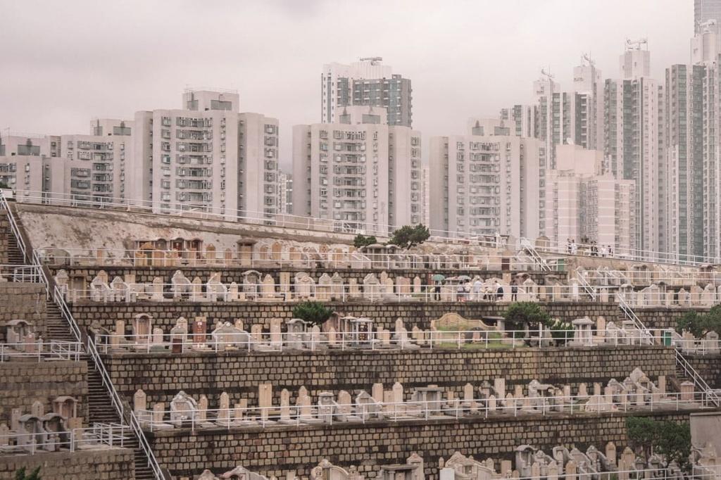 nghia trang Hong Kong anh 5