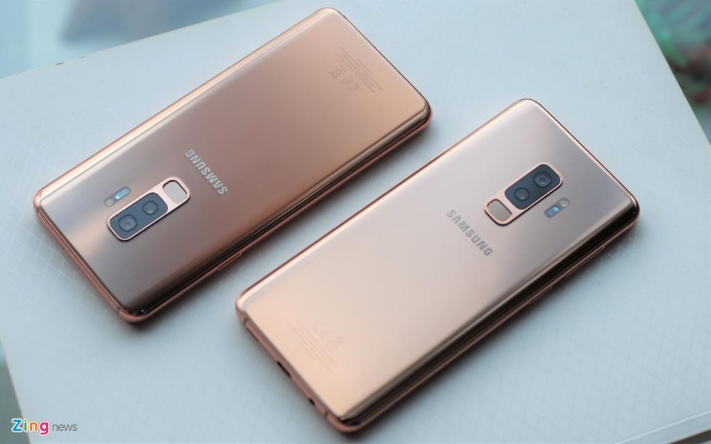 Galaxy S9+ Sunrise Gold: Phien ban hoang kim khac biet hinh anh 4