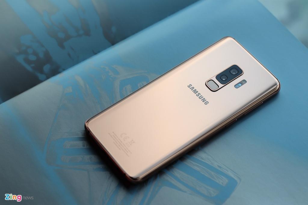 Galaxy S9+ Sunrise Gold: Phien ban hoang kim khac biet hinh anh 5