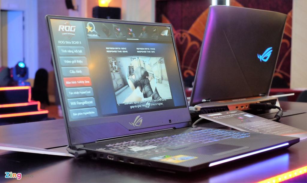 Laptop gaming ROG Strix SCAR II ra mat tai VN, gia tu 44,9 trieu hinh anh 2
