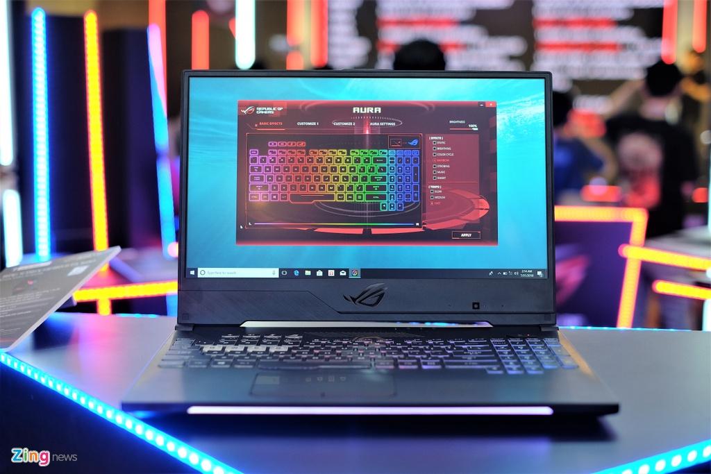 Laptop gaming ROG Strix SCAR II ra mat tai VN, gia tu 44,9 trieu hinh anh 10