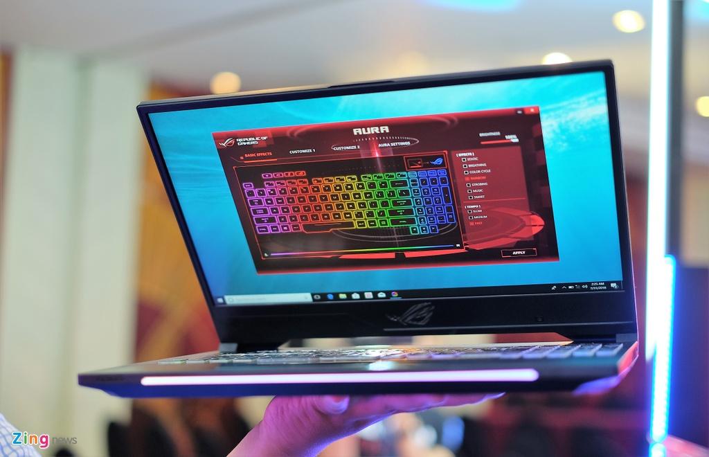 Laptop gaming ROG Strix SCAR II ra mat tai VN, gia tu 44,9 trieu hinh anh 3