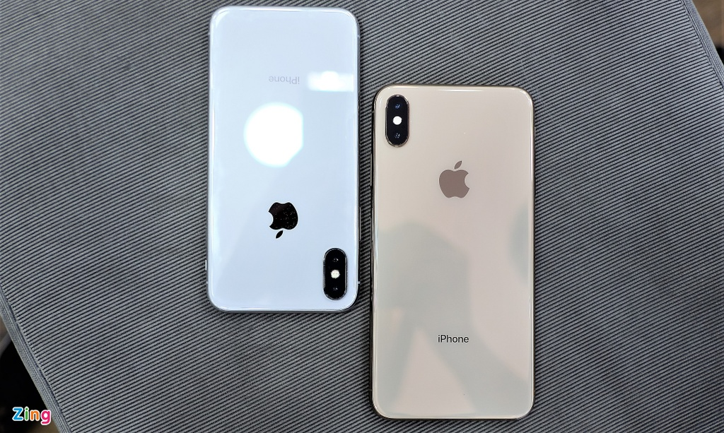 So sanh iPhone XS Max voi iPhone X anh 11