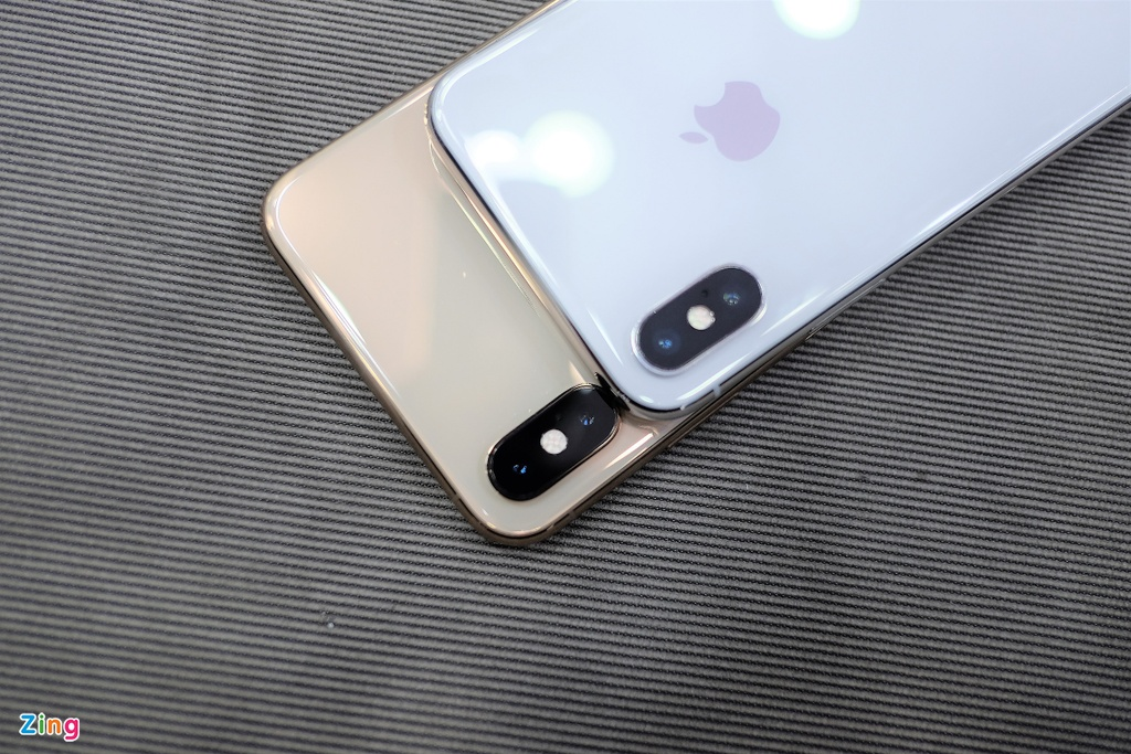 So sanh iPhone XS Max voi iPhone X anh 10