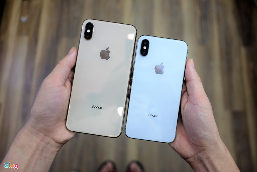 So sanh iPhone XS Max voi iPhone X anh 2