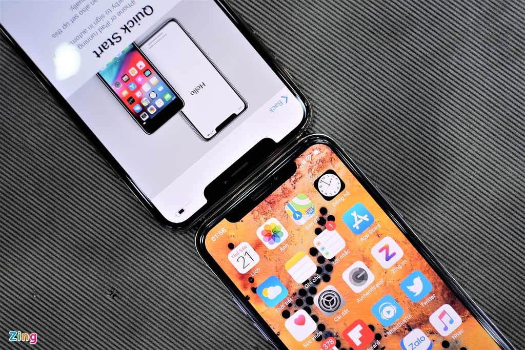 So sanh iPhone XS Max voi iPhone X anh 3