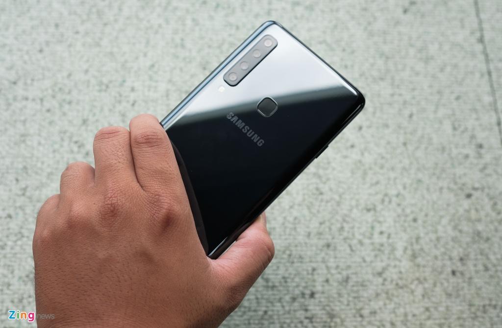 Chi tiet Galaxy A9 2018 4 camera sap ra mat o VN hinh anh 5