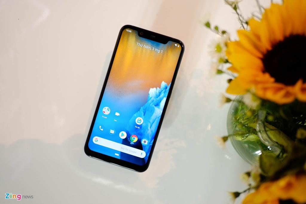 Danh gia Nokia 8.1 anh 1