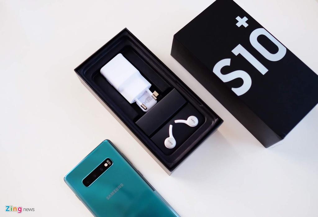 Mo hop Galaxy S10+ vua ra mat tai VN, gia tu 23 trieu dong hinh anh 2
