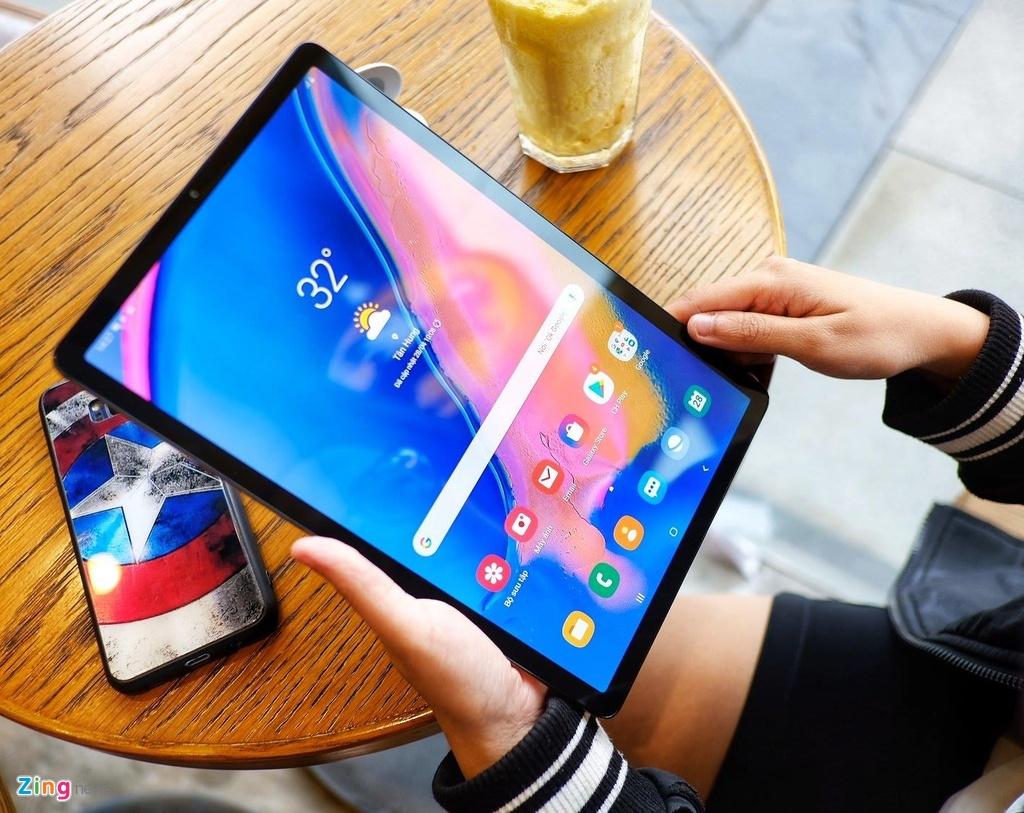 Trai nghiem Galaxy Tab S5e anh 3