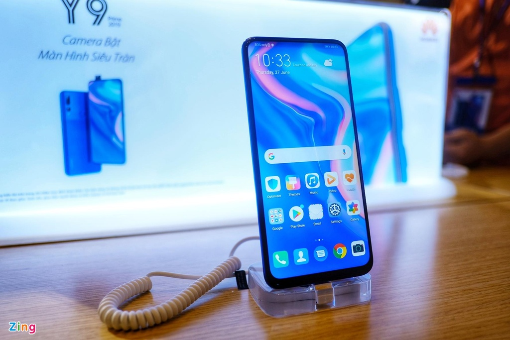Huawei Y9 Prime 2019 ra mat tai VN - camera truot, gia 6,5 trieu dong hinh anh 5