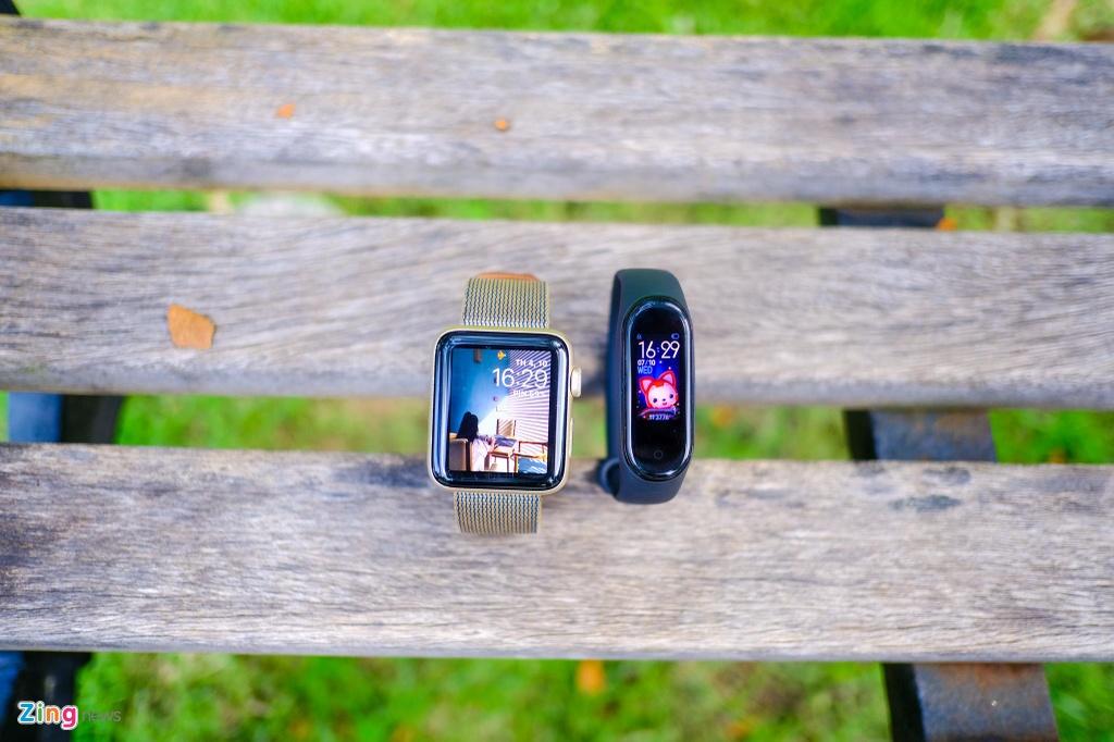 Toi chuyen tu Apple Watch sang Mi Band 4 va day la cam nhan hinh anh 9